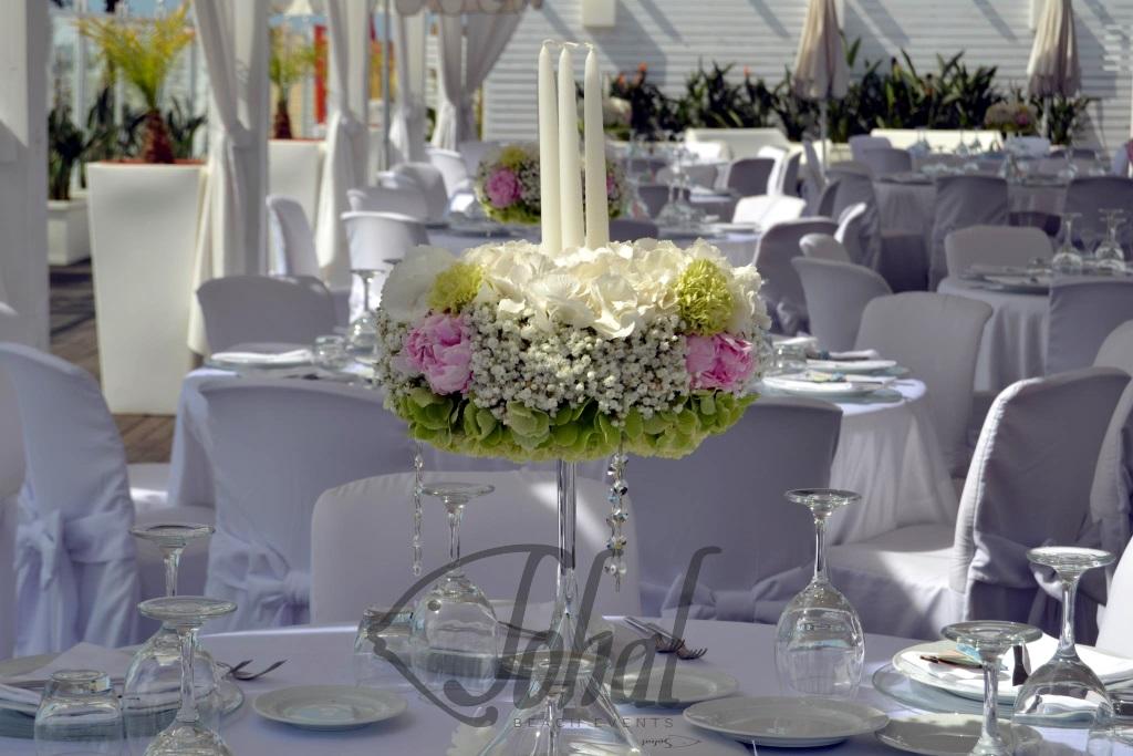 70fad0e27a5a centrotavola minimal chic. In un matrimonio in spiaggia da Sohal ...