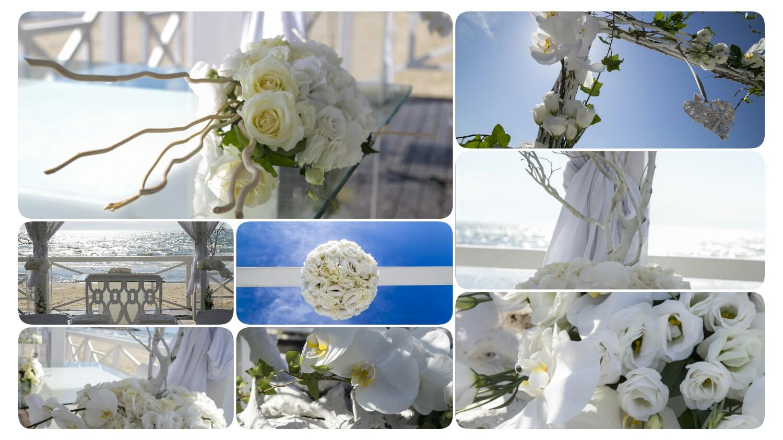 bcaaf60925f9 Fiori al matrimonio in spiaggia da Sohal Beach - Sohal