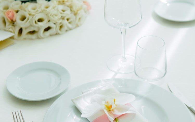preparazione del tavolo