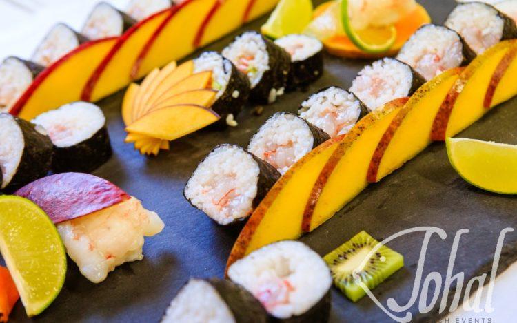 Sushi e abbinamenti esotici
