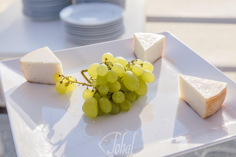 frutta e formaggio