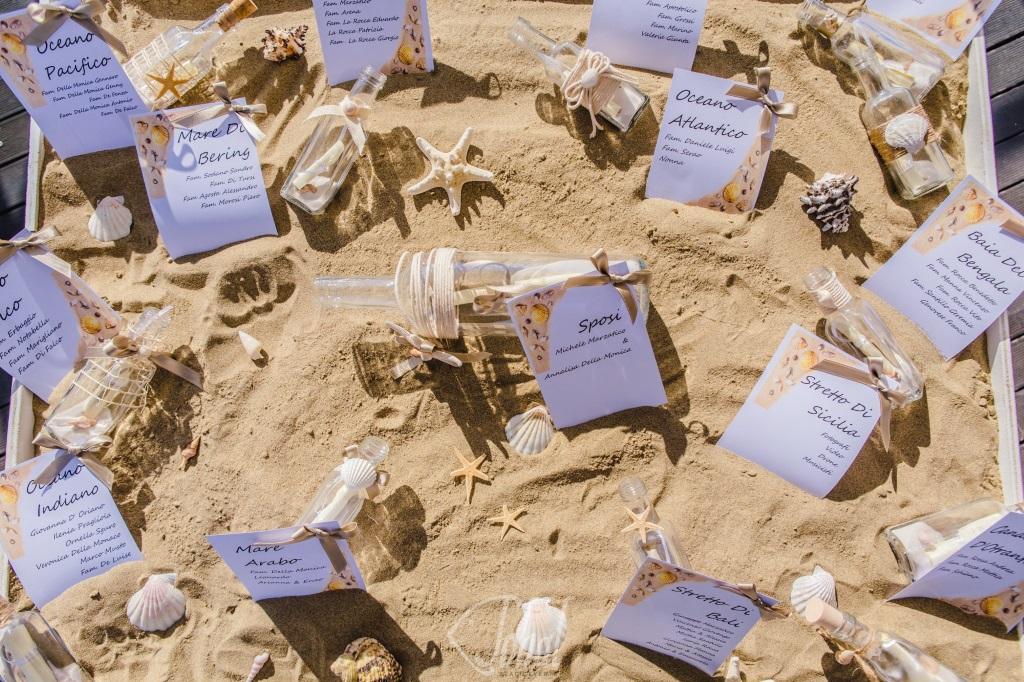 Matrimonio Tema Spiaggia : I mari più belli per il tabelau de mariage di un matrimonio in