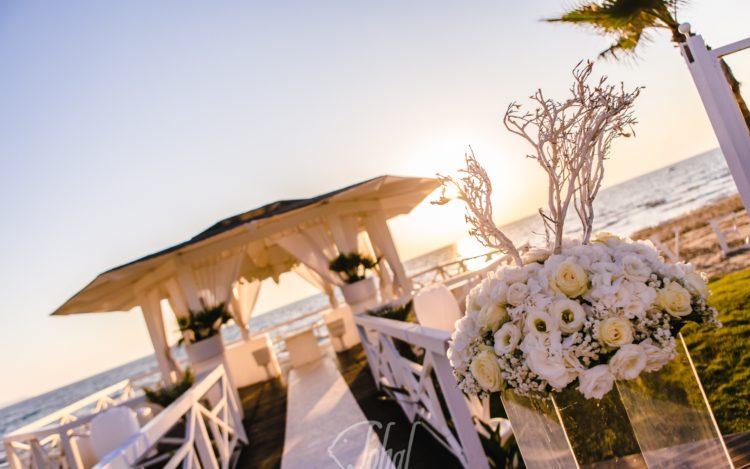 matrimonio in spiaggia american style