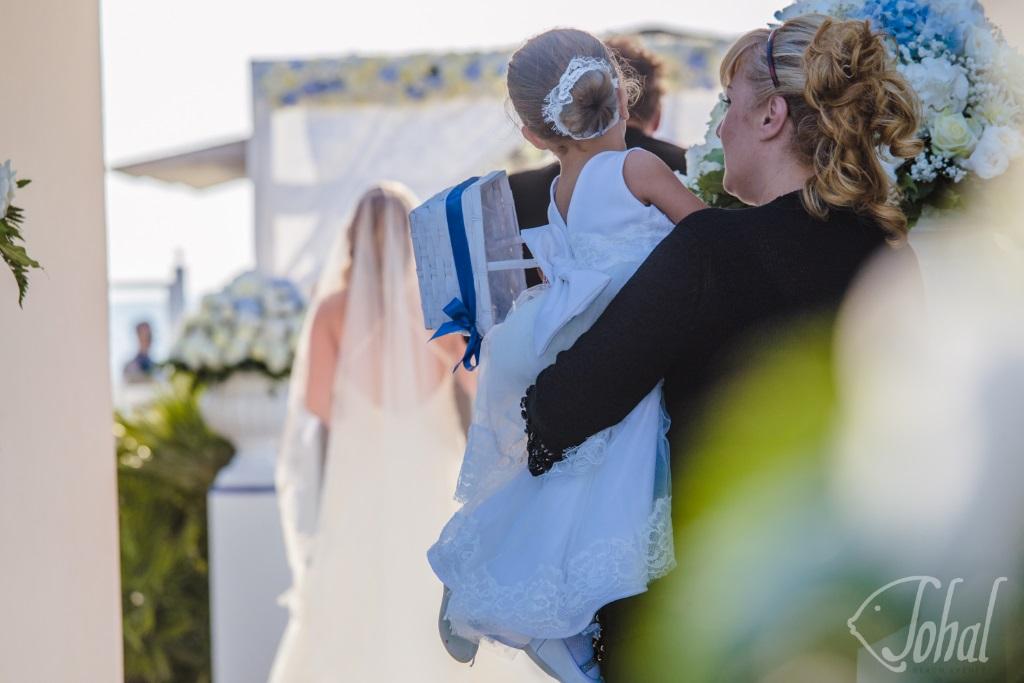 mattina del giorno delle nozze
