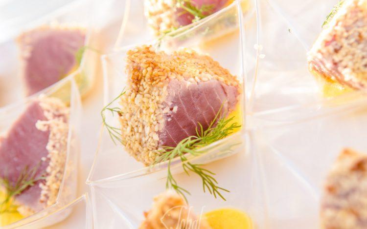 aperitivo e finger food per l'accoglienza degli ospiti