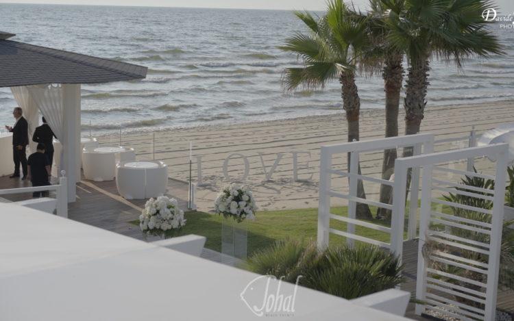dirsi ti amo sulla spiaggia
