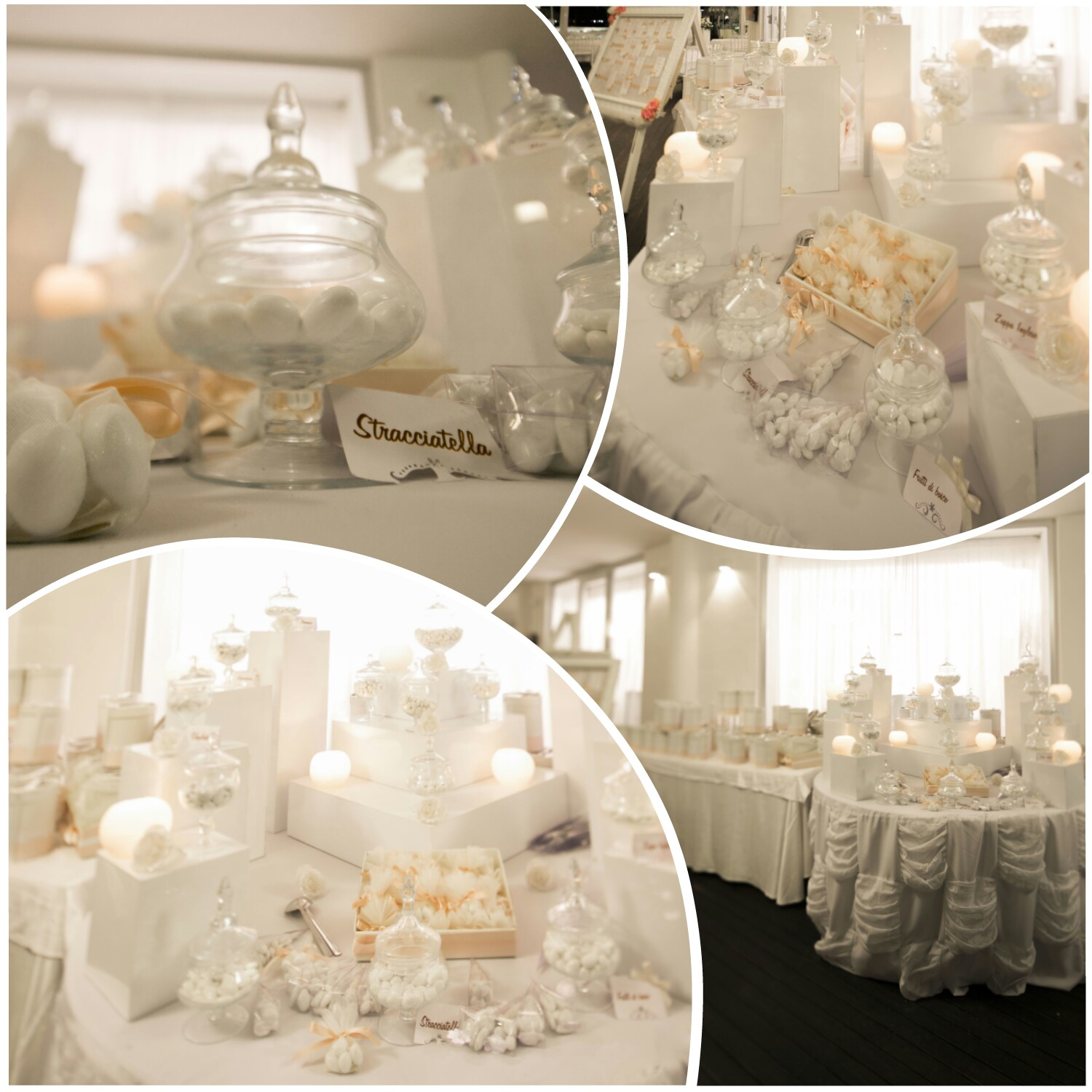 Tema Matrimonio Total White : Confettata total white per matrimonio in spiaggia