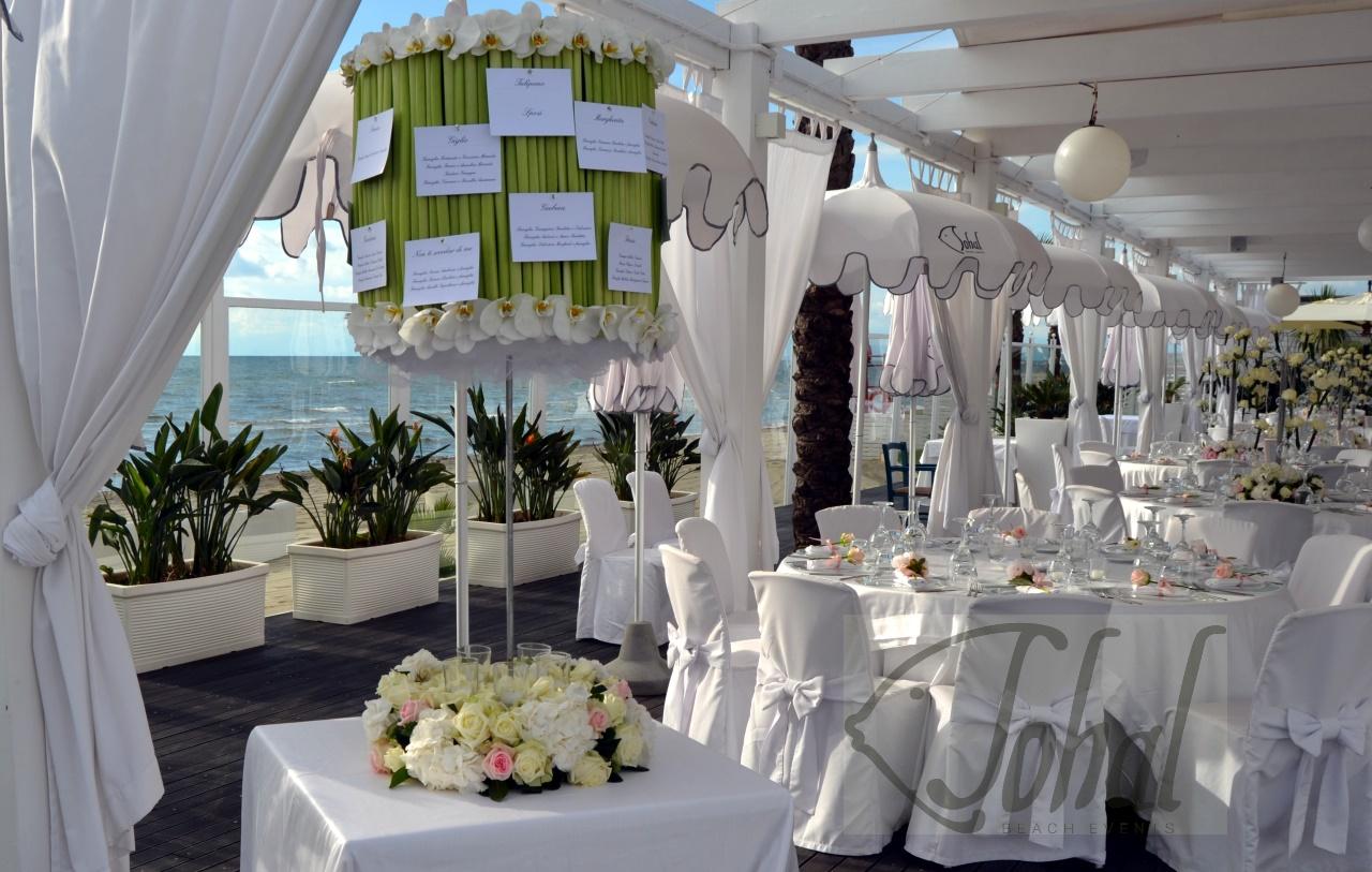 Matrimonio In Spiaggia Total White : Tableau de mariage green chic per un matrimonio sulla