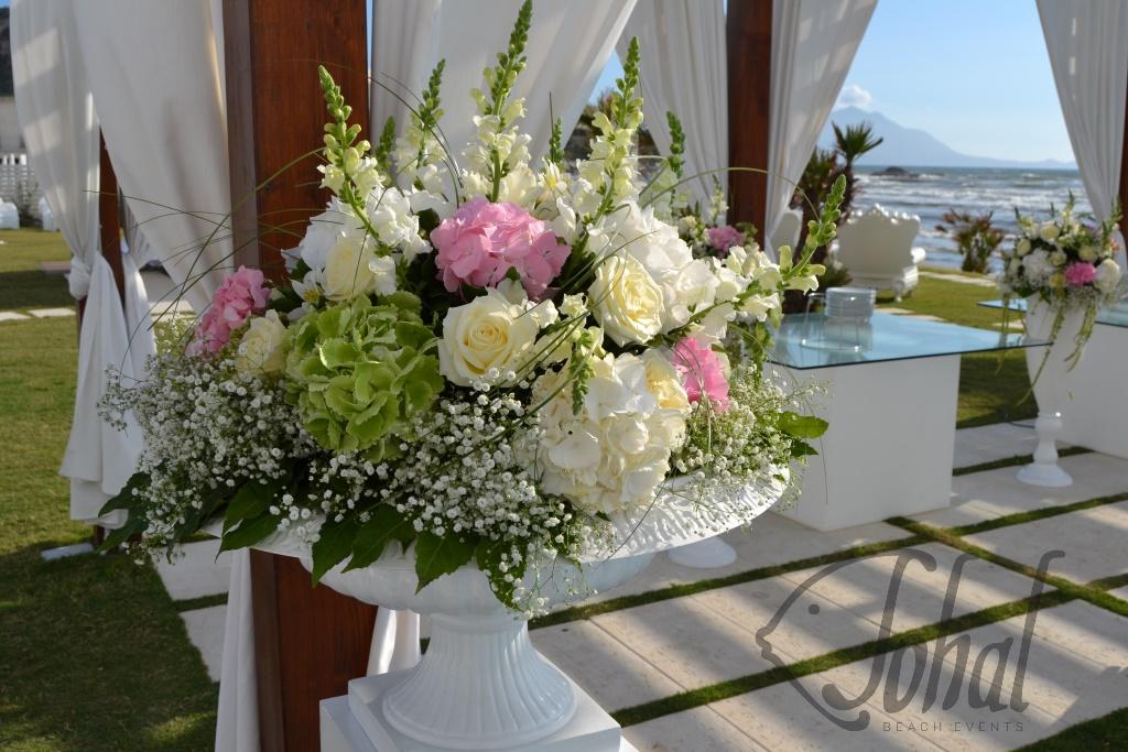 Matrimonio In Spiaggia Addobbi : Allestimenti floreali al matrimonio eleganza e