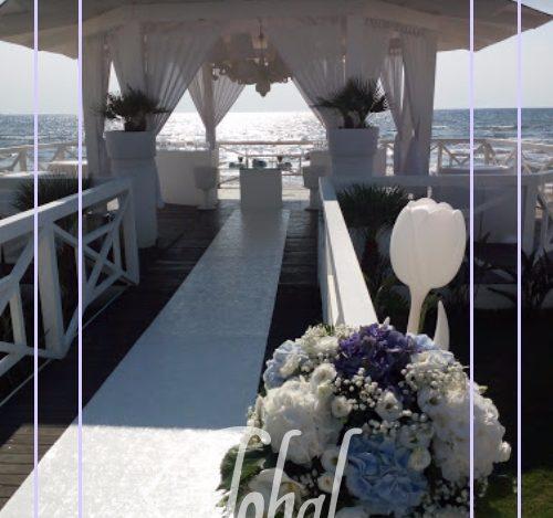 matrimonio romantico in spiaggia